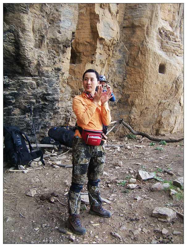 邯郸青崖寨-摩天岭-邢台紫金山穿越中的帅哥倩女
