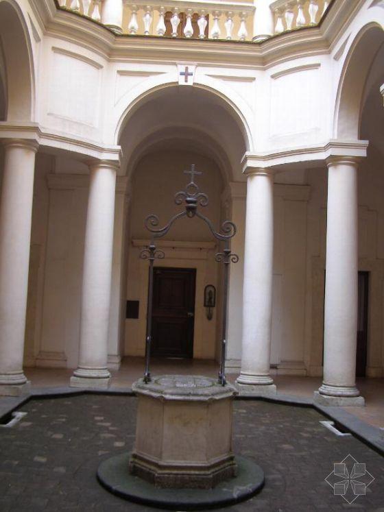 巴洛克式的建筑重要特点有   a、长, 狭窄的教堂中殿由更加