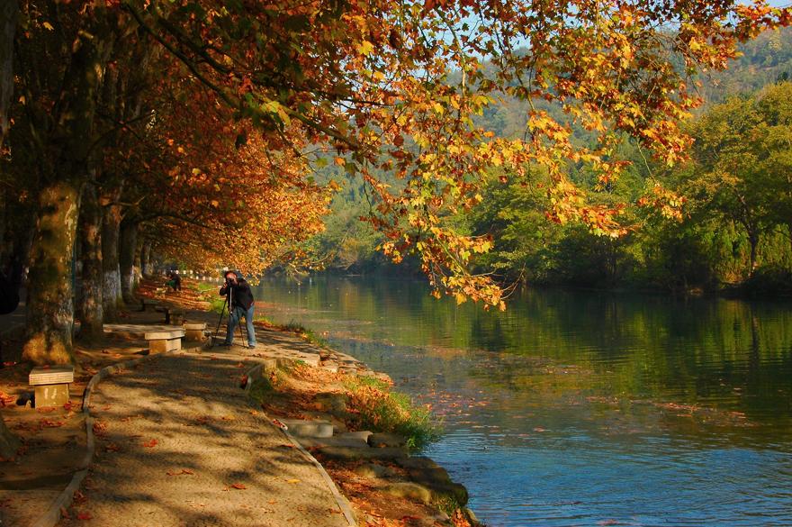 半山烟雨半山晴-两年前就想到花溪拍秋景,都遇特殊事情而没有去成,今年十一月一日