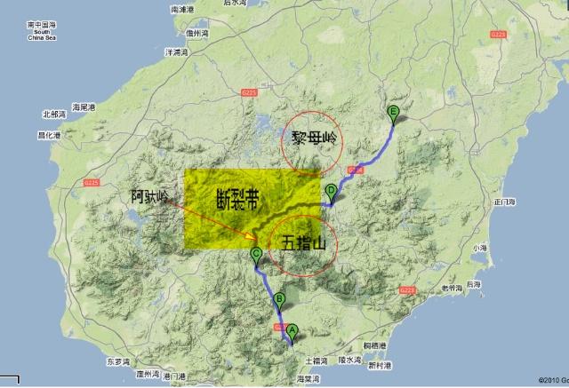 环海南岛攻略——中线(d8/d9)-long