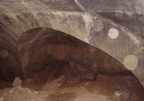 西夏唐代王爷墓葬结构图
