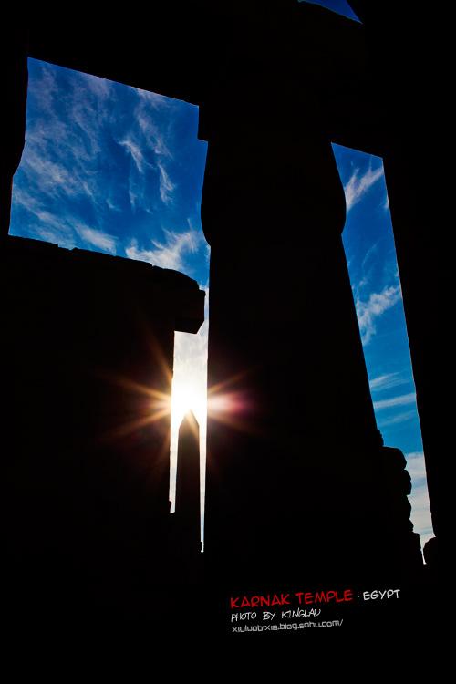 走进卡纳克神庙,用心阅读那时光雕刻的文明