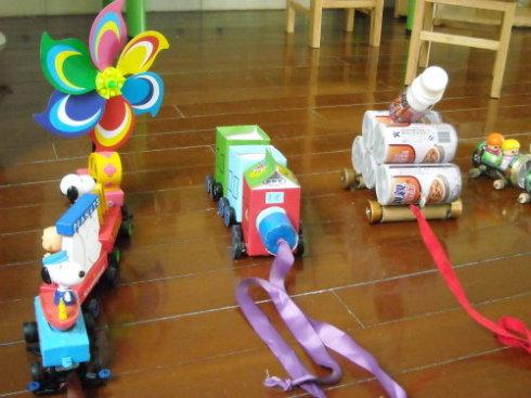 亲子自制玩具义卖活动