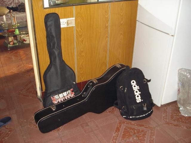 感倒地情绪的吉他