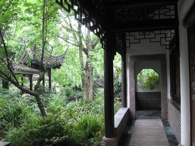 两进易园   五一节期间,前往成都著名的私家园林——易
