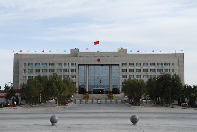 甘肃河西行-1(玉门市新市区)