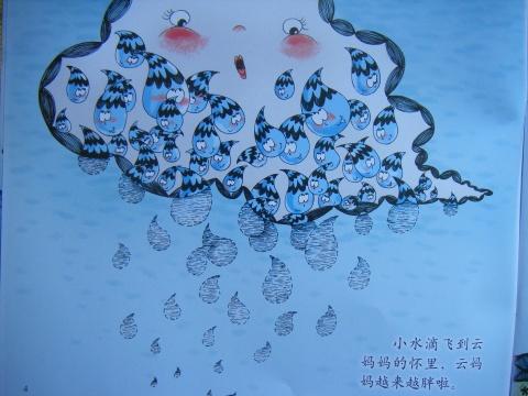 早期阅读第9和第10周《小水滴旅行记》-苍南县双语园