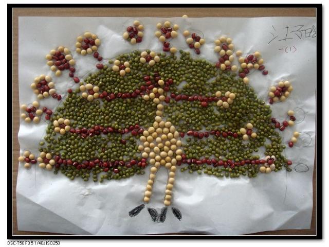 儿童手工制作贝壳作品图片展示_儿童手工制作贝壳