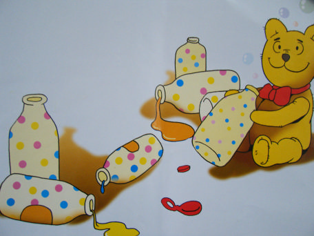 故事《小熊冒泡泡》-阳光·永丰幼儿园大一班-我的