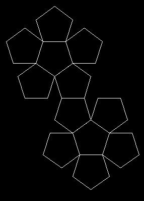 五面体展开图