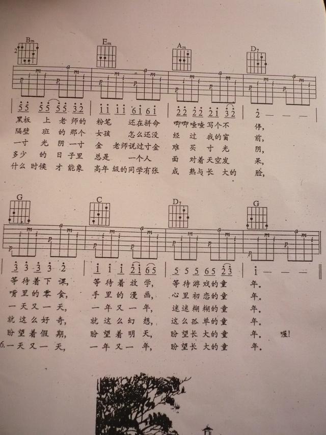 梁祝新歌f调五线谱