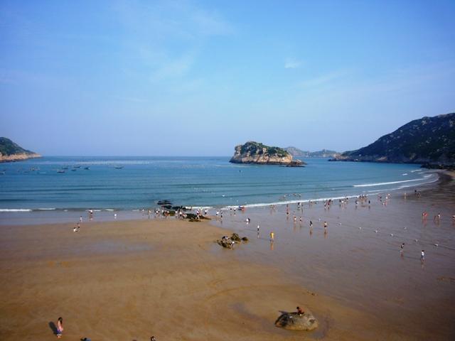 南麂岛之旅--第一天,拥抱大海!