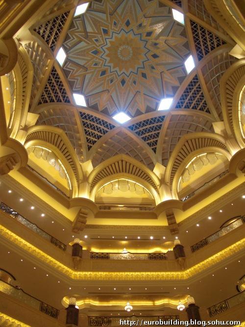 11-欧式别墅客厅效果图设计过厅,家具,顶棚,连廊,门厅