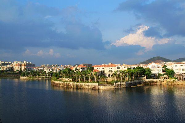 窗外的风景,阳东碧桂园别墅区