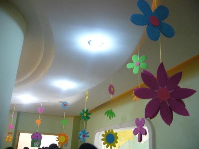 幼儿园卡纸吊饰图片
