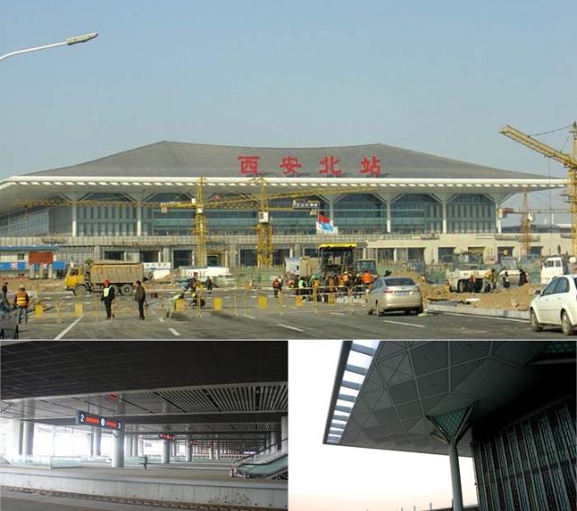 从西安火车站到北站_亚洲最大的火车站——西安北客站1.11正式运营-暗自咕咚-搜狐博客