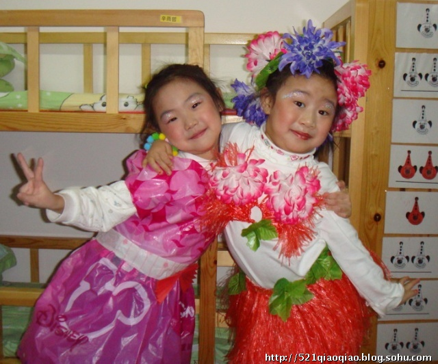 幼儿园模特表演赛