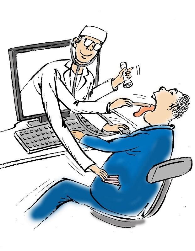 网络咨询,代表着时代的进步,选择的多样化。但网络只是提供一个平台,老百姓通过上网搜索就医信息,能为看病提供方便,但并非是看病,这在本质上是有区别的。 看病是一个很复杂的过程。第一步医生要听病人的主诉,第二步医生会对病人进行详细的体格检查,第三步患者可能还要做X线或核磁共振等检查以及化验检查。这三个部分综合起来才能得出一个初步诊断,在网上不可能获取这么详尽的资料。