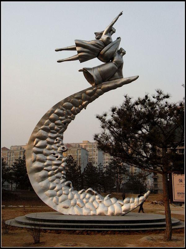 几座城市雕塑亮相-世博-搜狐博客