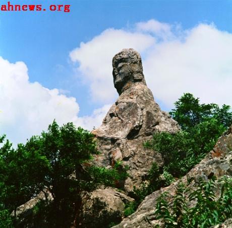 蚌埠涂山风景区地形