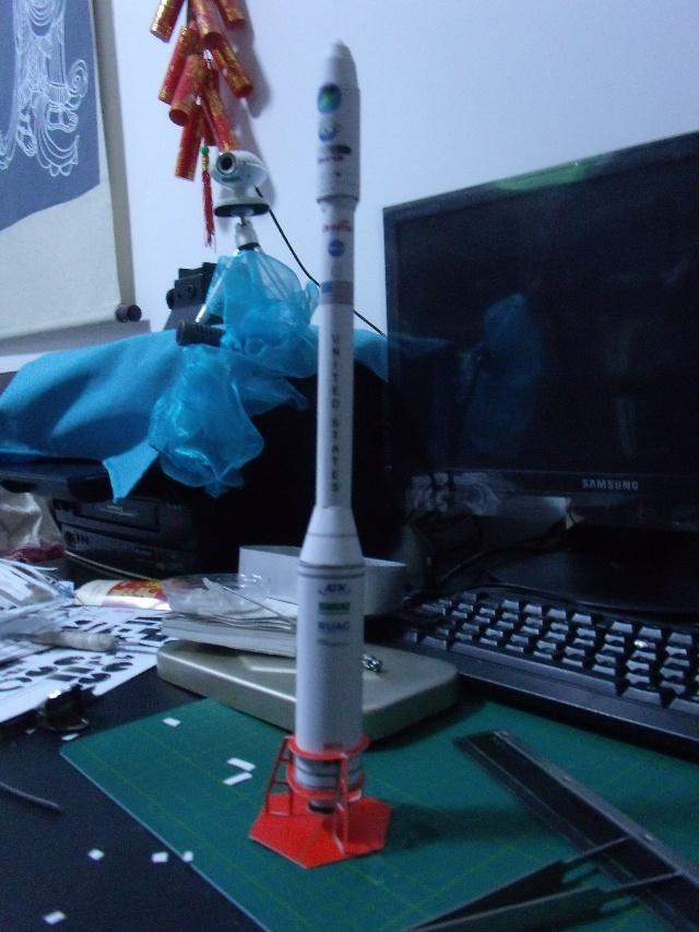 【神舟6号载人航天长征2火箭】作品制作-每天进步一