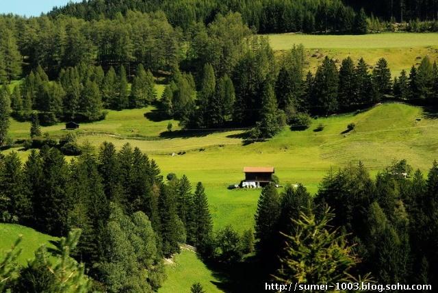 欧洲八国行之四—— 美丽的奥地利田园风光