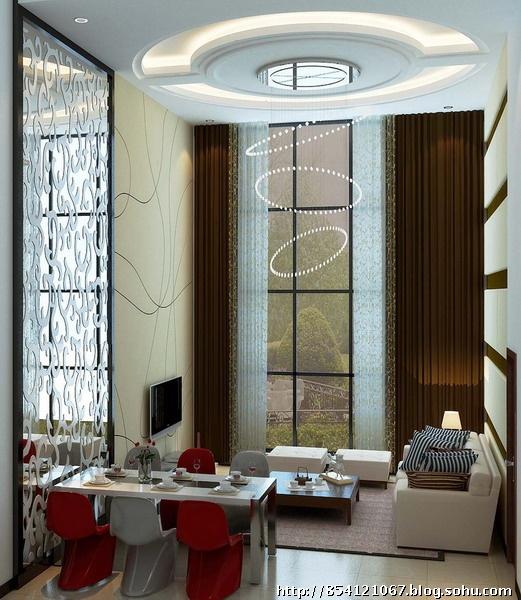 92平米精美复式现代简约装修风格案例 实创装饰臣芳推荐
