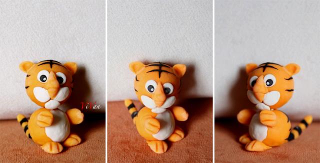 一只可爱的小老虎~~!