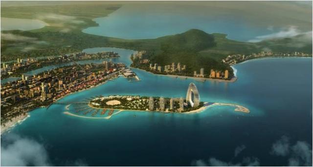 目前已在中东迪拜棕榈岛,新加坡圣陶沙,泰国普吉岛等全球热门度假岛屿