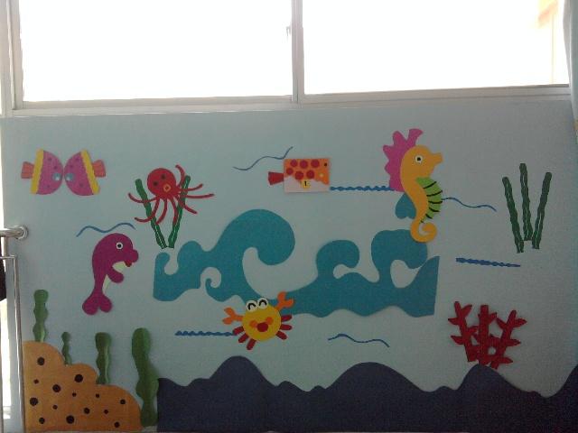主题墙——海底世界