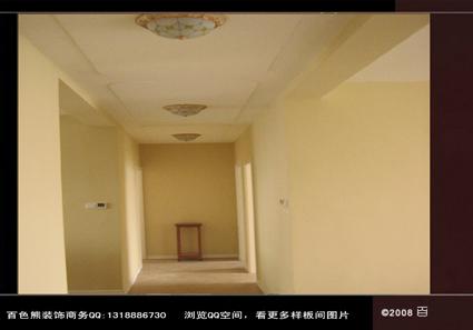 客厅吊顶,没有灯带,没有筒灯