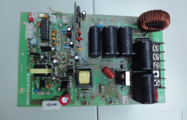 5kw半桥电磁感应加热控制板相关技术参数