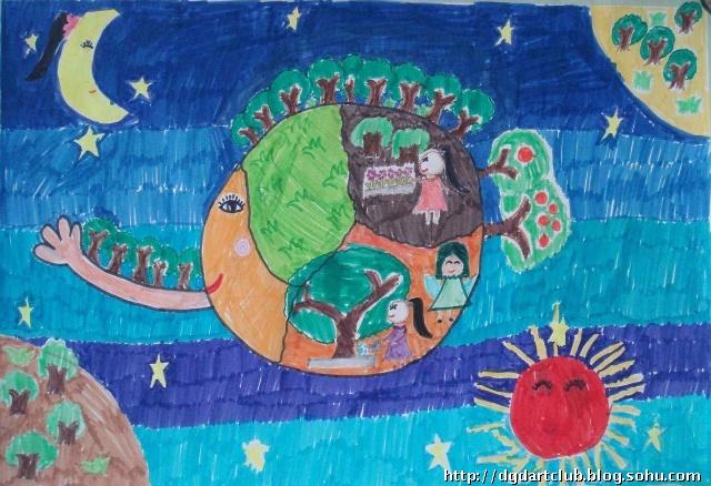 小学四年级美术绘画_小学一年级美术绘画