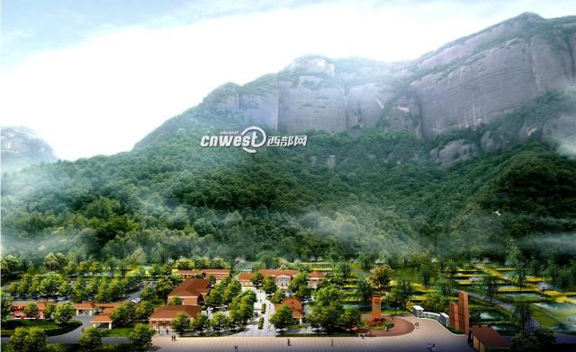 岭南山区房子风景
