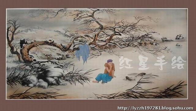 洛阳 红星手绘 二十四孝 壁画