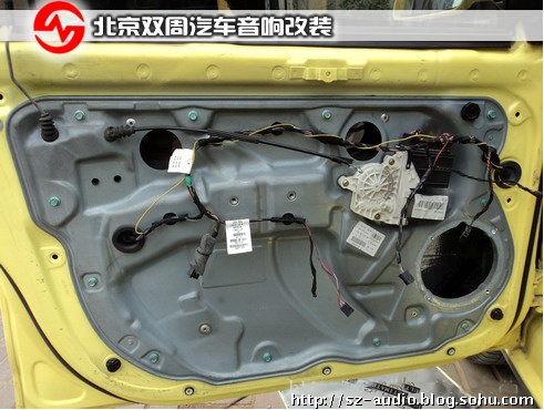 北京大众polo气车音响改装