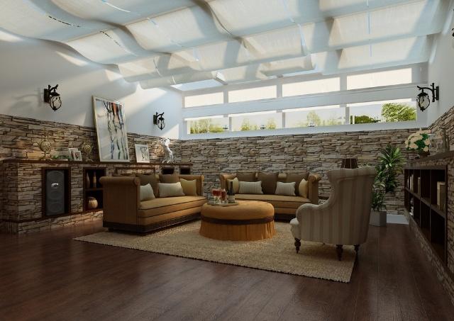 唯木空间设计作品:家在舒适浪漫处